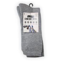 6 Units of Cushioned Wool Crew Grey - Socks & Hosiery