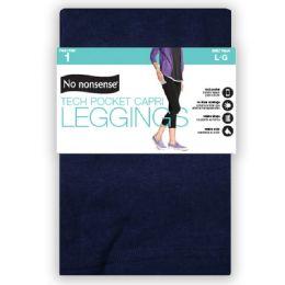 4 Units of Nn Capri Tech Pocket Sz L - Socks & Hosiery
