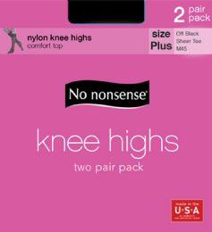 6 Units of Knee Hi Off Black Queen - Socks & Hosiery