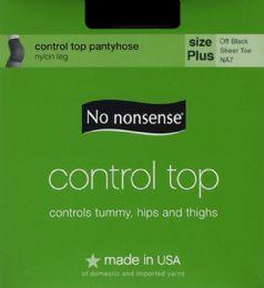 6 Units of Nn Cont Top Vp O Blk Plus - Socks & Hosiery