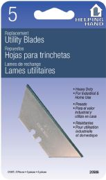 12 Units of Helping Hand Utility Knife Blades - Kitchen Knives