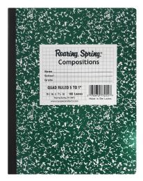 12 Units of Roaring Spring Compositions Quad Ruled - Note Books & Writing Pads