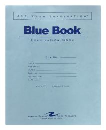 200 Units of Roaring Spring Blue Exam Book - Note Books & Writing Pads