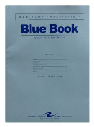 100 Units of Roaring Spring Blue Exam Book - Note Books & Writing Pads