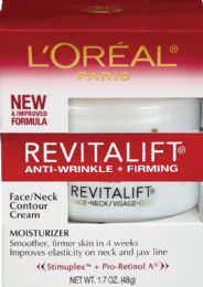 6 Units of L'Oreal Paris Revitalift Anti-Wrinkle + Firming Day Face Moisturizer, , 1.7 Oz. - Skin Care