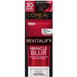 6 Units of L'Oreal Paris Revitalift Miracle Blur Instant Skin Smoother, , 1.18 Fl. Oz. - Skin Care