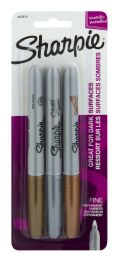 12 Units of Sharpie Permanent Marker Fine Metallic - Markers and Highlighters
