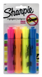 12 Units of Sharpie Accent TanK-Style Highlighters 4ct Assorted Colors - Markers and Highlighters