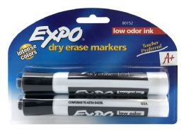 6 Units of Expo 2 Low Odor Chisel Point Dry Erase Marker 2 ct - Markers and Highlighters