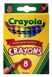 24 Units of Crayola 8 Crayons - Crayon