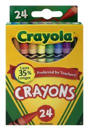 8 Units of Crayola Classic Color Pack Crayons, 24 Count, Assorted Colors - Crayon