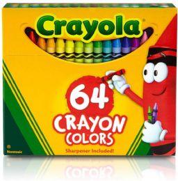 6 Units of Crayola Crayons Box 64 Count - Crayon