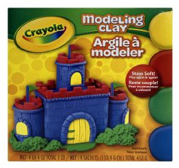 6 Units of Crayola Modeling Clay - Clay & Play Dough