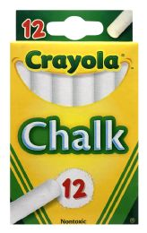 12 Units of Crayola Chalk - Chalk,Chalkboards,Crayons