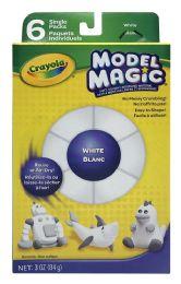 4 Units of Crayola Model Magic White Blanc - Arts & Crafts