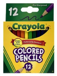 8 Units of Crayola Colored Pencils 12 - Pens & Pencils