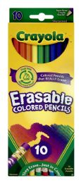 6 Units of Crayola Erasable Colored Pencils 10 Count - Pens & Pencils