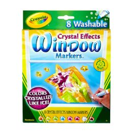 12 Units of Crayola Window Markers 8Ct - Markers