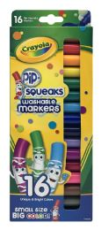 12 Units of Crayola Pip Squeaks Washable Markers - Markers