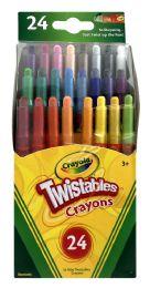 6 Units of Crayola Mini Twistables Crayons 24 Count - Crayon