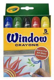 12 Units of Crayola Window Crayons - Arts & Crafts