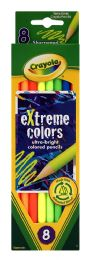 12 Units of Crayola Extreme Colors Ultra-Bright Colored Pencils - Pens & Pencils