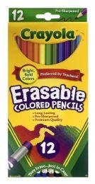 6 Units of Crayola Erasable Colored Pencils 12 - Pens & Pencils
