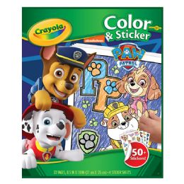 12 Units of Crayola Clr Stkr Paw Patrol - Coloring & Activity Books