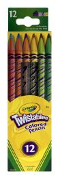 6 Units of Crayola Twistables Colored Pencils - Pens & Pencils