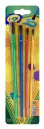 6 Units of Crayola Pinceles - Arts & Crafts