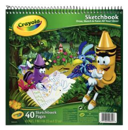 12 Units of Crayola Sketchbook - Arts & Crafts