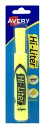 12 Units of Avery HI- Liter Brand - Markers and Highlighters