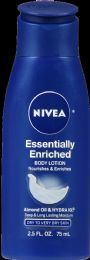 24 Units of Nivea Essently Enriched Lotion - Bath And Body