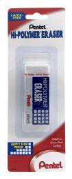 12 Units of HI-Polymer Block Eraser, Large White 1-pk - Erasers
