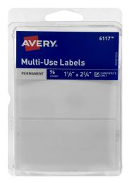 12 Units of Avery Multi-Use Labled - Labels