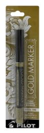 6 Units of Pilot Metallic Gold Paint Marker, Extra Fine Point (0.5mm), Gold, 1 Count - Markers