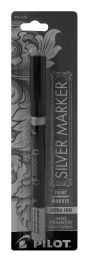 6 Units of Pilot Metallic Silver Paint Marker, Extra Fine Point (0.5mm), Silver, 1 Count - Markers