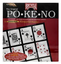 6 Units of Bicycle The Original PO-KE-No Boards 12 - Card Games