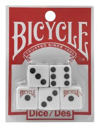 8 Units of Bicycle Dice - Playing Cards, Dice & Poker