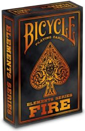 6 Units of Bicycle Fire Playing Cards - Card Games