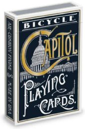 6 Units of Bicycle Capitol Playing Cards - Card Games