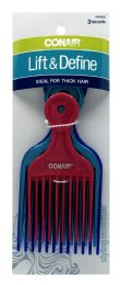 12 Units of 3-Pk Hair Lifts S/M/L - Hair Brushes & Combs
