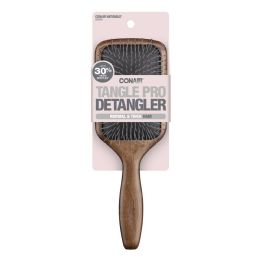 6 Units of Brush Detangling Wood Paddle - Hair Brushes & Combs