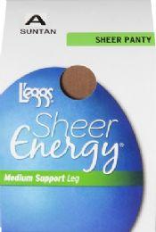 6 Units of Leggs Shr Enrgy Pnty Sntn A - Womens Pantyhose
