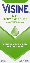 8 Units of Visine Ac .5Oz Allergy Relief - Eye Wear