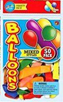 12 Units of Jaru F 13 50 Big Mixed Ballns - Balloons & Balloon Holder