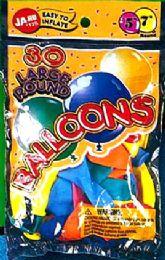 12 Units of Balloons 30Ct Large Round - Balloons & Balloon Holder