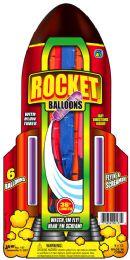 12 Units of Balloons Rocket 36''6Pk 6X12 - Balloons & Balloon Holder