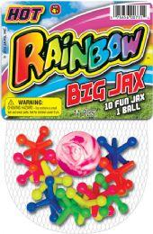 12 Units of Rainbow Big Jaxs 4.5x7 - Seasonal Items