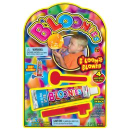 24 Units of Bloonies Blower - Balloons & Balloon Holder